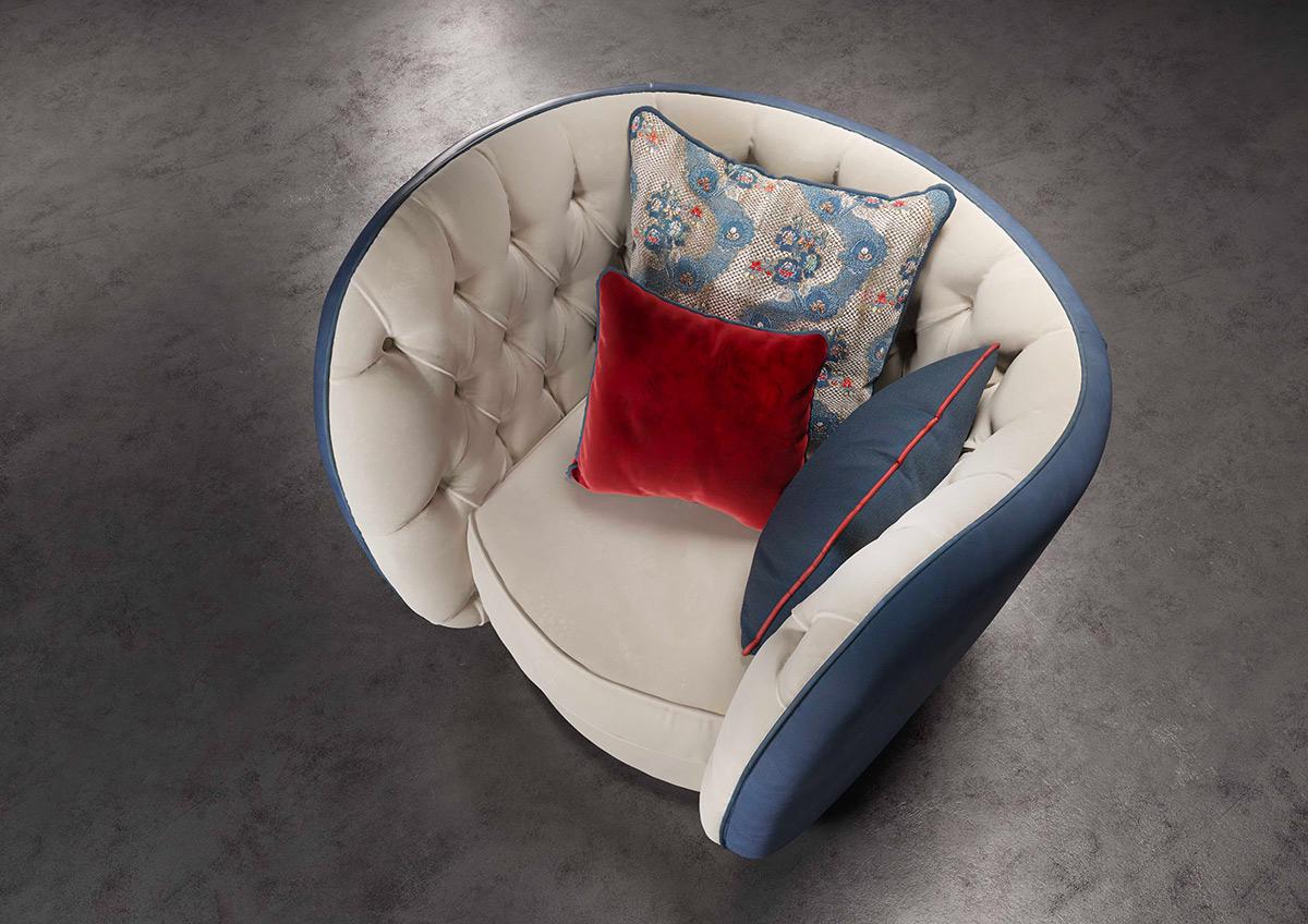 L'eucalipto divano e poltrona