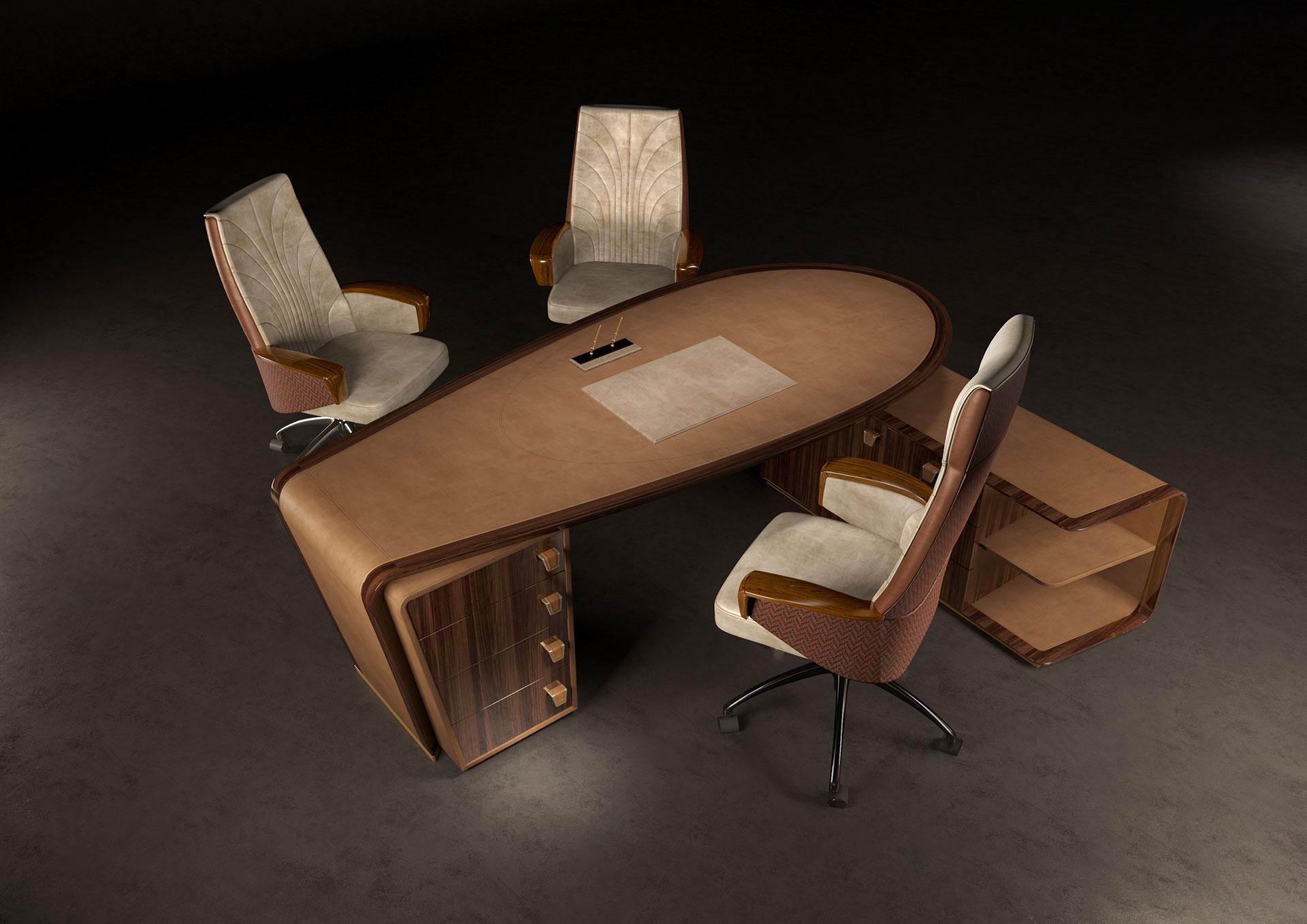 Il cedro office armchair