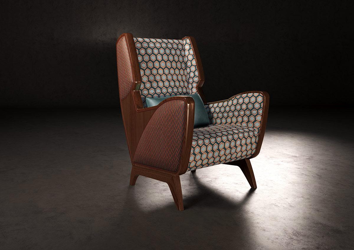 Il mogano armchair