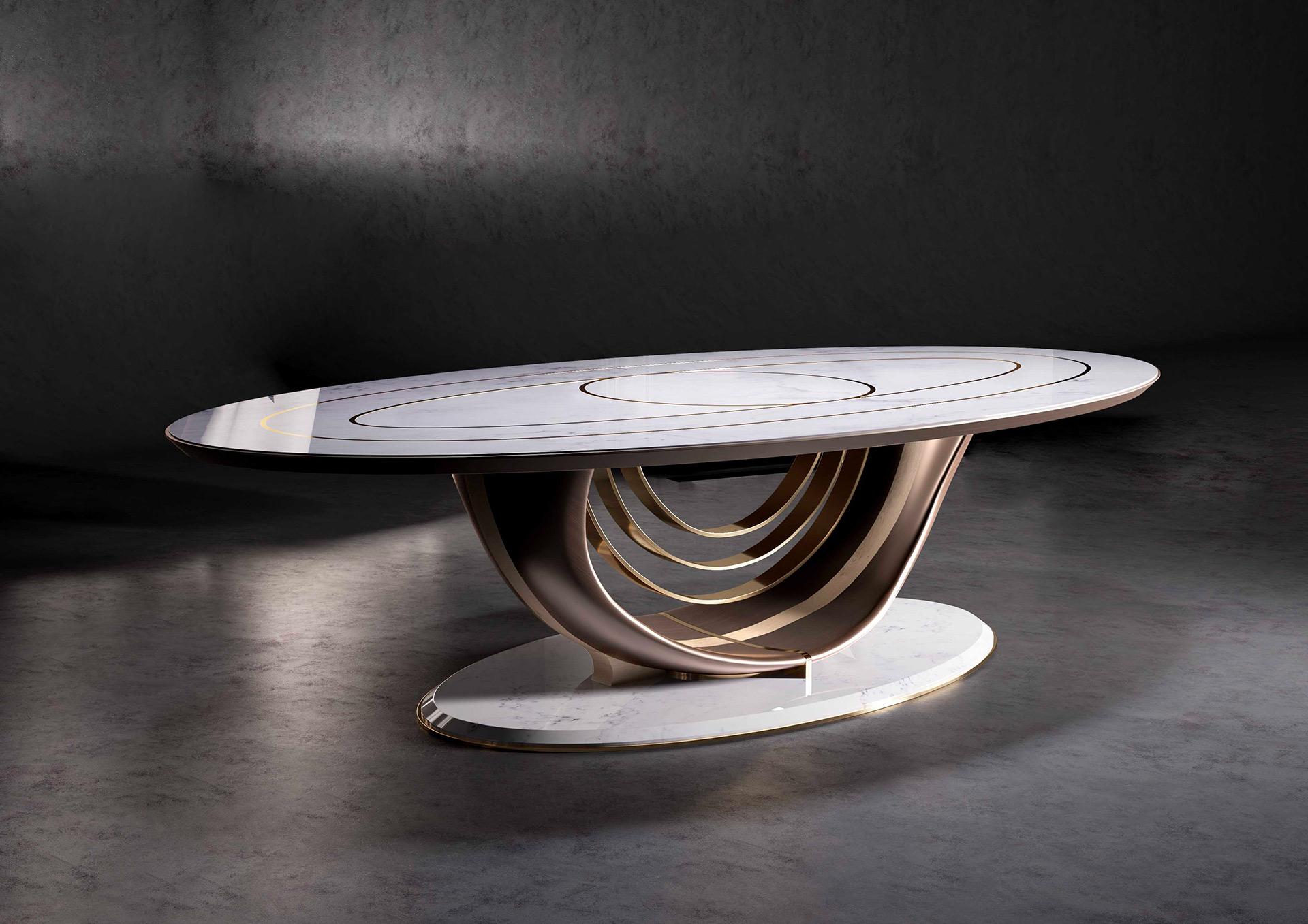 Il Platano tavolo ovale