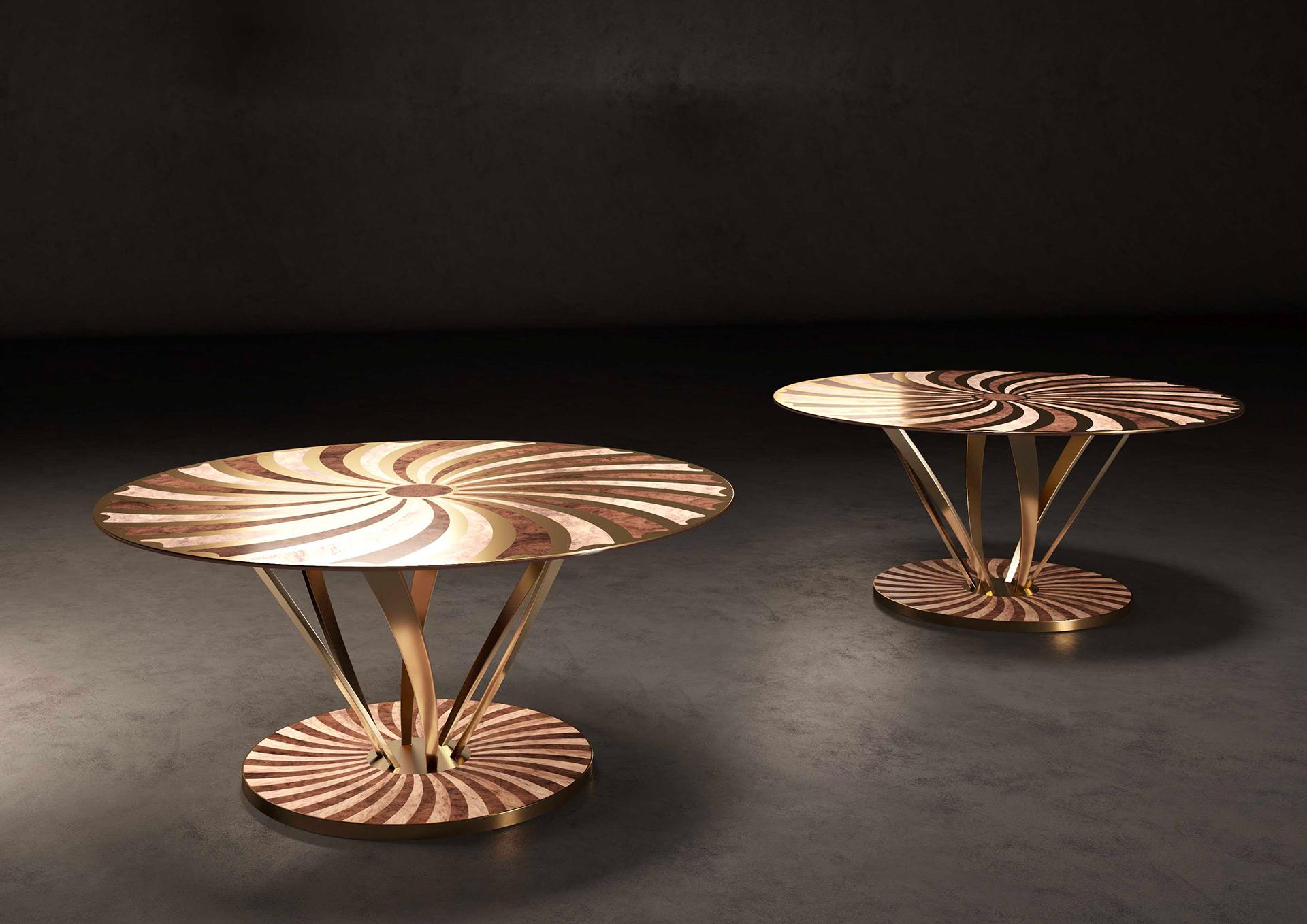 La robinia d'oro tavolino